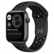 Apple Watch Nike Series 6 GPS + Cellular 44mm Alumínio Cinzento Espacial com Bracelete Nike Sport Antracite/Preto