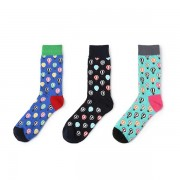 Women Unisex Cotton Hot Air Balloon Socks Casual Breathable Soft Personalized Long Socks