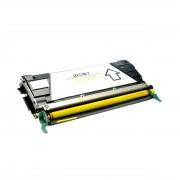 Lexmark Cartucho de tóner para LEXMARK C746A1YG amarillo compatible (marca ASC)