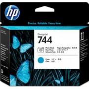 HP INC TESTINA HP 744 NERO FOTO+CIANO