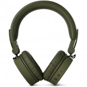 FRESH 'N REBEL Fresh'N Rebel 3hp200ar Cuffie Wireless Bluetooth Colore Verde