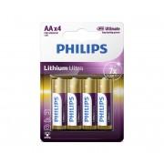 Philips FR6LB4A/10 - 4 ks Baterie cu litiu AA LITHIUM ULTRA 1,5V