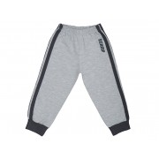 Pantaloni trening cu elastic in talie, gri