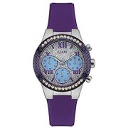 Guess Analogue Silver Dial Womens Watch-W0773L4