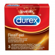 Durex Real Feel latex mentes óvszer (3 db)