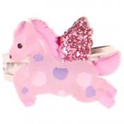 Ringetje paardje roze
