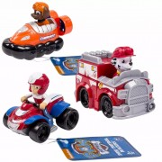 Paw Patrol Three Piece Vehicle Set Rescue Racers 6 6026590