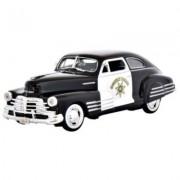 California Highway Patrol 1948 Chevy Aerosedan Fleetline Diecast 1:24 Scale