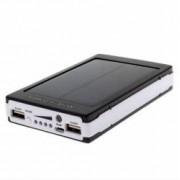 Baterie externa - Power Bank 20000 mah - incarcare solara + lanterna
