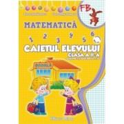 Caietul elevului de Matematica (Sem I + Sem II) pentru clasa a II-a