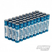 PowerMaster AAA Super Alkaline Battery LR03 40pk - 40pk 867060 5024763160233
