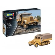 Revell 03263 Sd Kfz 7 Model Set, 1: 72 Scale