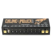Caline CP-04 Guitar Effects Pedal Power Supply 10 Isolated DC Output for 9V 12V 18V Guitar Effects