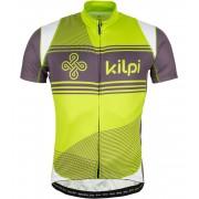 KILPI Cyklistický dres VELOCITY EM0047KILGN Zelená XL