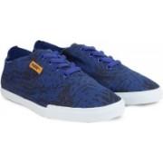 Puma Streetsala Wns Graphics DP Canvas Shoes For Women(Black, Blue)