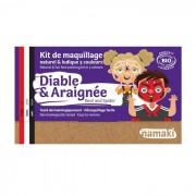 NAMAKI Kit maquillage bio 3 couleurs - Diable et Araignée