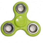 Green Hand Spin Metallic Red Rounder