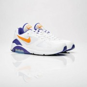 Nike Air Max 180 White/Bright Ceramic/Dark Concord