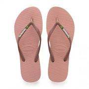 Havaianas Women's SL Brasil CF Rose Nude Rubber Sandal 9M