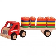Super Shape sorting lorry - Wooden Toys - Brainsmith - Early Learning - Fine motor skills - Imagination - Concentration - Counting skills - Building blocks - Birthday gift - Return Favour - Play and Learn - Child safe toys - 2 years and above