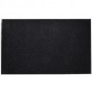 vidaXL Black PVC Door Mat 90 x 60 cm