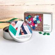 smartphoto Förvaringsbox metall reklangulär L