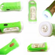 Lanterna LED 1W cu Acumulator si Panou 2 LEDuri 1W Yawang YW1502