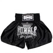 Rumble kickboks broekje zwart wit