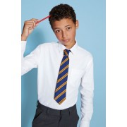 Next White Long Sleeve Oxford Shirt (3-16yrs) - White