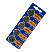 Батерия Sony CR2032, 3.0V - комплект от 5 батерии - Европейска версия