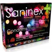 Saninex condoms punteado 144 uds