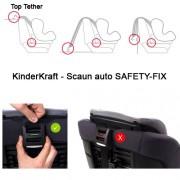 Scaun auto SAFETY-FIX Beige 9-36kg
