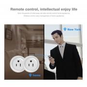 Eb Mini WiFi Mando A Distancia Inteligente Temporizador Plug Switch Outlet US Plug Dispositivos Domésticos