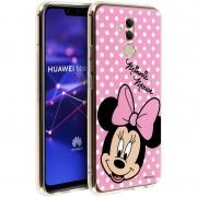 Disney Capa Disney Minnie Mouse Rosa Lua para Huawei Mate 20 Lite