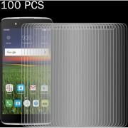 100 PCS Para Alcatel Idol 4 0.26mm 9h Dureza Superficial 2.5D A Prueba De Explosion Tempered Glass Screen Film
