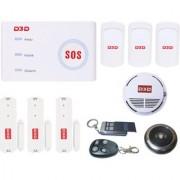 D3D @ D10 Wi-Fi/GSM Security/Burglar Alarm system Complete Package