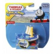 Skiff Locomotiva din Metal Thomas and Friends Take N Play