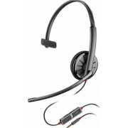 Casca Call Center Plantronics BLACKWIRE 215, Jack 3.5 mm, Monoaural (Negru)