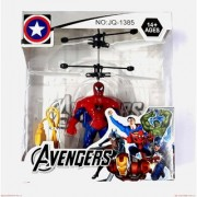 Spiderman Induction Type Hand Sensor Flying Helicopter for Kids Mini Infrared Induction Helicopters Hand Sensor