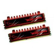 G.Skill Ripjaws F3-12800CL9D-4GBRL - Mémoire - 4 Go : 2 x 2 Go - DIMM 240 broches - DDR3 - 1600 MHz / PC3-12800 - CL9 - 1.5 V - mémoire sans tampon - NON ECC
