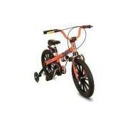 Bicicleta Infantil Aro 16 Laranja/preta Extreme - Nathor Laranja/preta