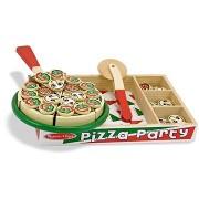 Melissa-Doug Fából készült pizza