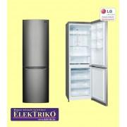 LG GBB329DSJZ , alul fagyasztós ,kombinált hűtőszekrény , NoFrost, A++ energiaosztály