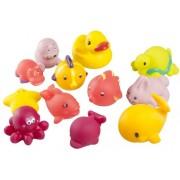 Babymoov-A104921-Set 12 jucarioare de baie: set fetite