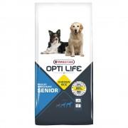 2x12,5kg Opti Life Sénior Medium & Maxi ração
