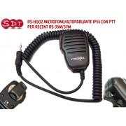 RS-H002 MICROFONO/ALTOPARLANTE IP55 CON PTT PER RECENT RS-35M/37M