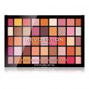 Revolution Paletă - 45 umbre de ochi în nuanțe strălucitoare și mate Maxi Reloaded Palette Big Big Love 60,75 g