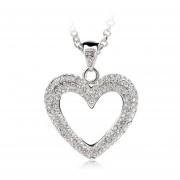 Dije Silver Heart - Gris