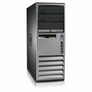 Calculator HP Compaq DC7100 MiniTower, Intel Pentium 4 2.8 GHz, 1 GB DDR, 40GB SATA, DVD-ROM