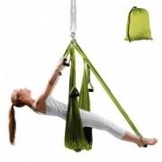 inSPORTline Yogaswing Antigravity, grön, inSPORTline